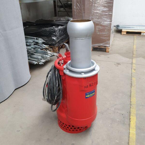 Pompa de apa submersibila debit mare Tsurumi pump rosie