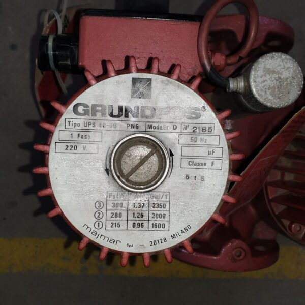 Pompa de apa dubla Grundfos UPS 40-90 Pn6