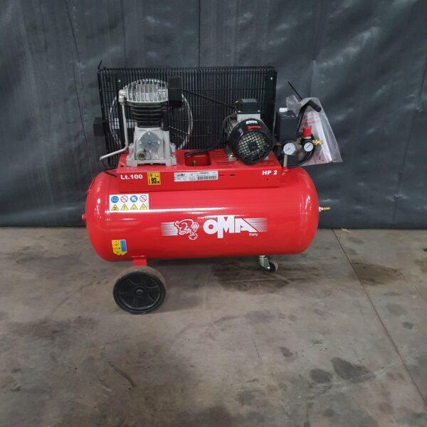 Compresor 100 L Oma CT2/ PAT 24/MEC 80 -Nou