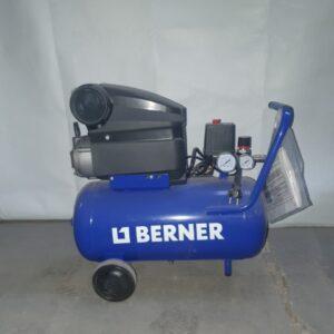 Compresor 24L Berner 154027 2Hp -Nou