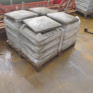 Capac cos fum/ horn din beton C6R -Nou