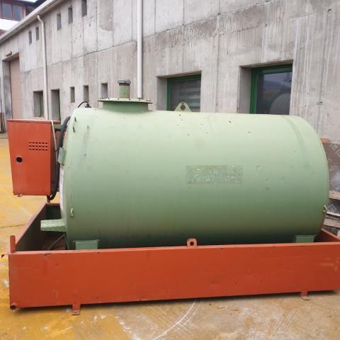 Statie motorina 3000 L cu pompa Dimatrino Silos & Serbatori SH