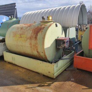 Statie motorina 2400 L cu pompa Emilana Serbatori SH
