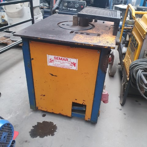 Masina de fasonat/ debitat otel/ fier beton 28 mm L'europea- SH