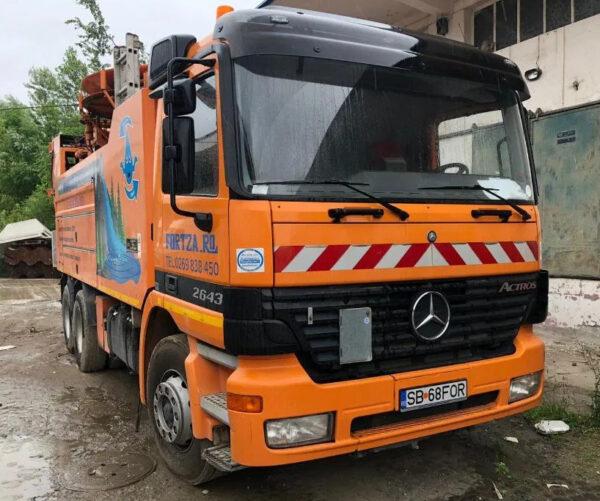 Vitanja 13 metri cubi Mercedes-Benz Actros-SH