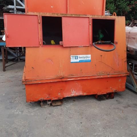 Rezervor motorina 750 L cu pompa manuala VanSpijker SH