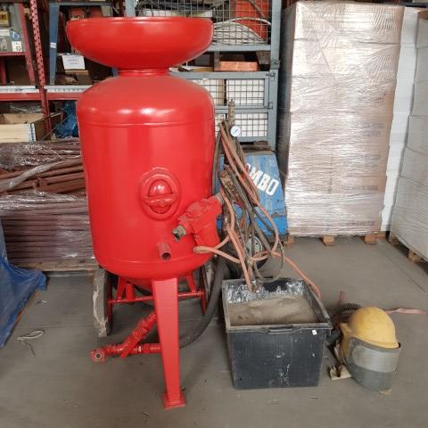 Instalatiie de sablat industriala/ masina de sablat